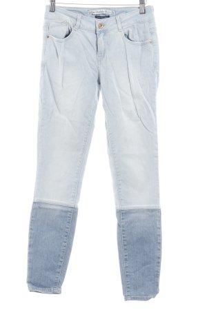 Zara Trafaluc Skinny Jeans himmelblau-stahlblau Casual-Look