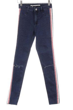 Zara Trafaluc Skinny Jeans mehrfarbig Casual-Look