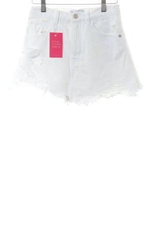 Zara Trafaluc Skorts white casual look