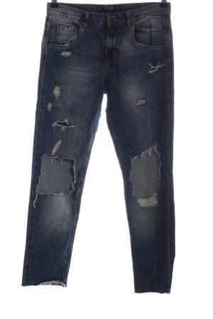 Zara Trafaluc Slim jeans blauw casual uitstraling