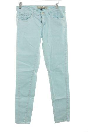 Zara Trafaluc Slim Jeans babyblau schlichter Stil