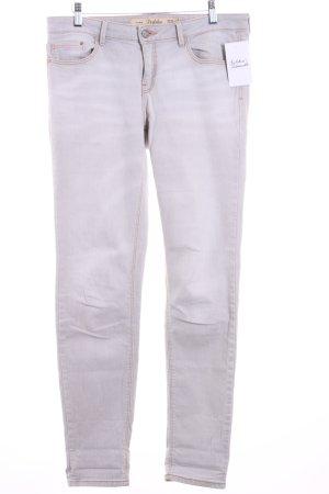Zara Trafaluc Slim Jeans hellgrau Casual-Look