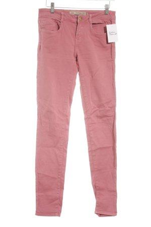 Zara Trafaluc Slim Jeans lachs Street-Fashion-Look
