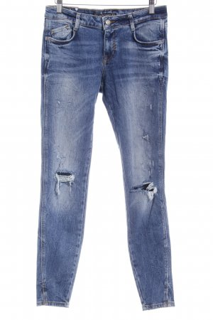Zara Trafaluc Slim Jeans mehrfarbig Casual-Look