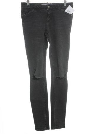 Zara Trafaluc Slim Jeans schwarz Casual-Look