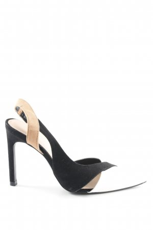 Zara Trafaluc Slingback-Pumps mehrfarbig Elegant