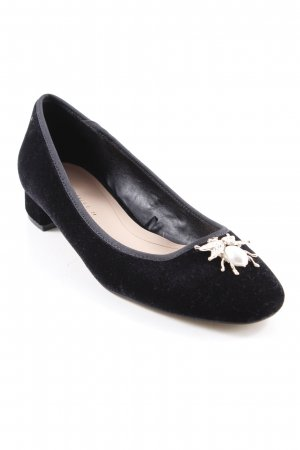 Zara Trafaluc Slipper schwarz Elegant