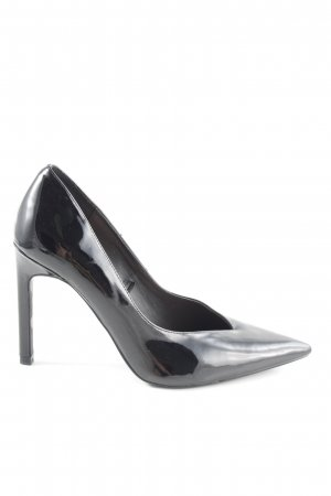 Zara Trafaluc Spitz-Pumps schwarz Business-Look
