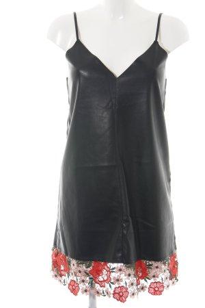 Zara Trafaluc Spitzenkleid mehrfarbig Elegant