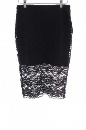 Zara Trafaluc Jupe en dentelle noir élégant