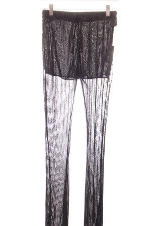 Zara Trafaluc Stoffhose schwarz Elegant