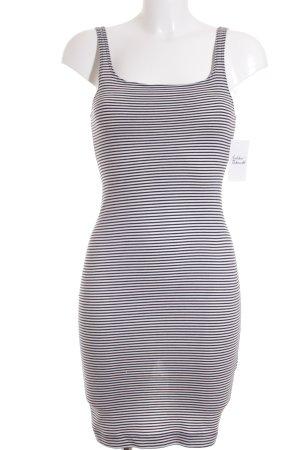 Zara Trafaluc Strandkleid weiß-dunkelblau Streifenmuster Beach-Look