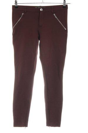 Zara Trafaluc Stretch broek bruin casual uitstraling