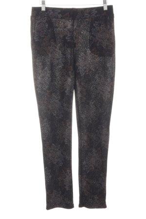 Zara Trafaluc Pantalon strech gris clair moucheté style décontracté