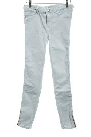 Zara Trafaluc Pantalon strech bleu pâle style décontracté