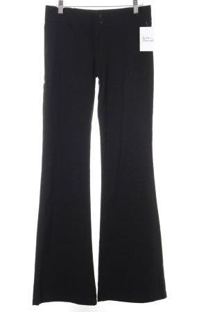 Zara Trafaluc Stretch Trousers black casual look