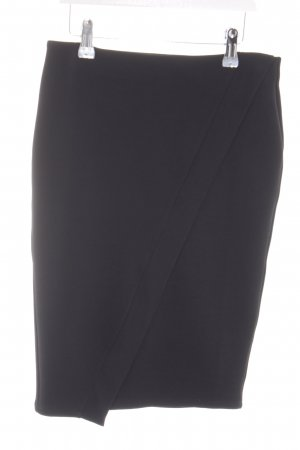 Zara Trafaluc Stretchrock schwarz Business-Look