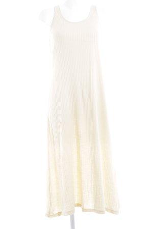 Zara Trafaluc Strickkleid creme schlichter Stil