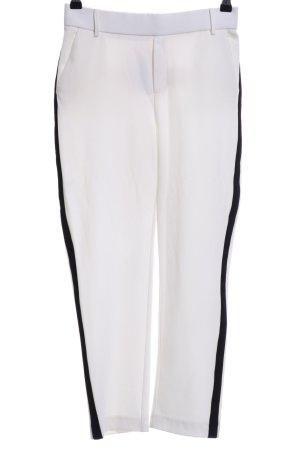 Zara Trafaluc Pantalone fitness beige chiaro-nero stile professionale