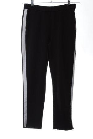 Zara Trafaluc Pantalone fitness nero-grigio chiaro stile casual