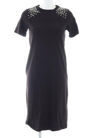 Zara Trafaluc Sweatkleid schwarz Casual-Look