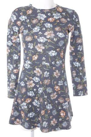 Zara Trafaluc Vestido de tela de sudadera estampado floral look casual