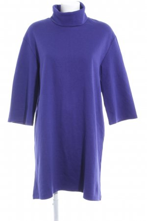 Zara Trafaluc Sweat Dress dark violet casual look