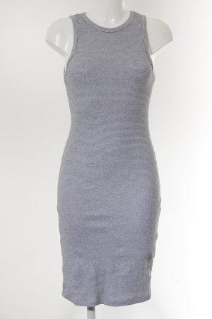 Zara Trafaluc Vestido de tela de sudadera multicolor look casual