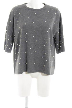 Zara Trafaluc Sweat Shirt light grey casual look
