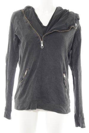 Zara Trafaluc Sweatshirt dunkelgrau Casual-Look