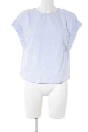 Zara Trafaluc T-Shirt himmelblau Casual-Look