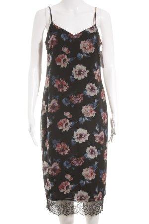 Zara Trafaluc Vestido tipo overol estampado floral elegante