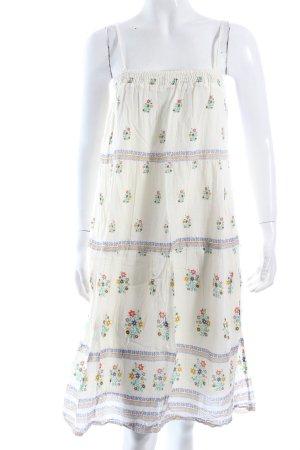 Zara Trafaluc Trägerkleid florales Muster Hippie-Look