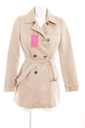 Zara Trafaluc Trench beige-marrone stile classico