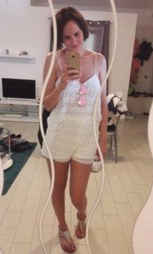Zara Trafaluc TRF Jumpsuit Spitze Lace Playsuit Einteiler Onepiece Anzug Hippie
