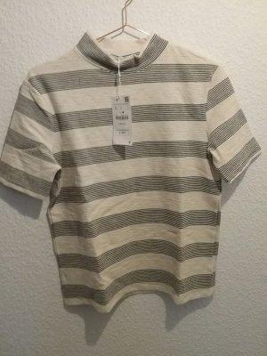 Zara Trafaluc TRF Turtleneck Shirt Streifen L - Neu mit Ettikett