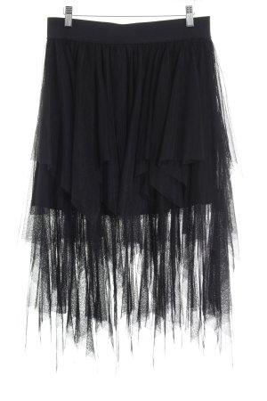 Zara Trafaluc Tüllrock schwarz Elegant