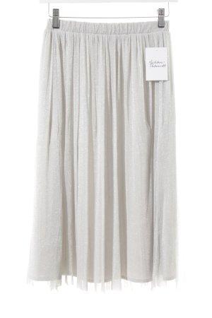 Zara Trafaluc Tule rok zilver straat-mode uitstraling