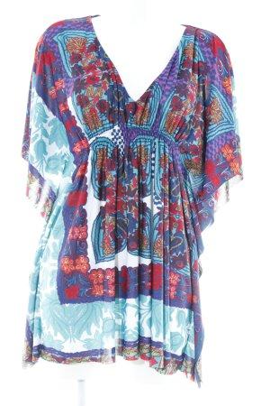 Zara Trafaluc Tunikabluse florales Muster extravaganter Stil