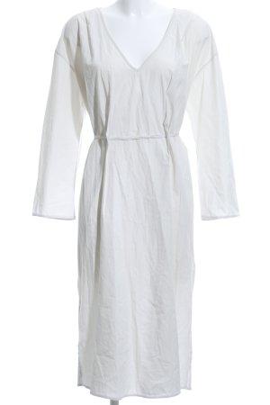 Zara Trafaluc Vestido tipo túnica verde pálido look casual