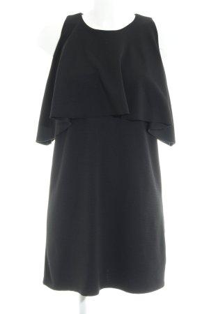 Zara Trafaluc Tuniekjurk zwart casual uitstraling