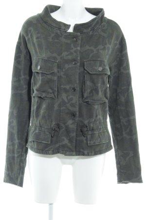 Zara Trafaluc Übergangsjacke Camouflagemuster schlichter Stil