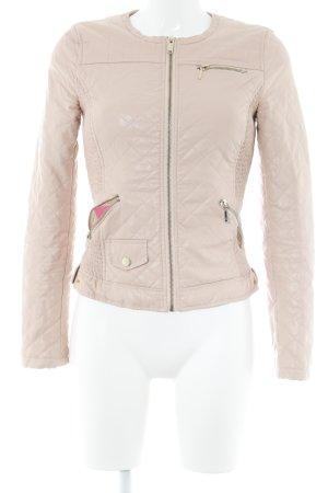 Zara Trafaluc Übergangsjacke rosé Casual-Look