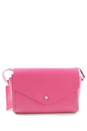 Zara Trafaluc Gekruiste tas roze casual uitstraling