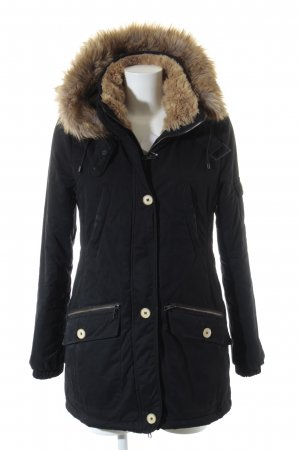 Zara Trafaluc Winterjacke schwarz Casual-Look