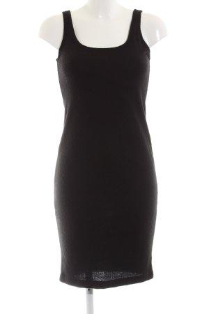 Zara Trafaluc Wollkleid schwarz Casual-Look