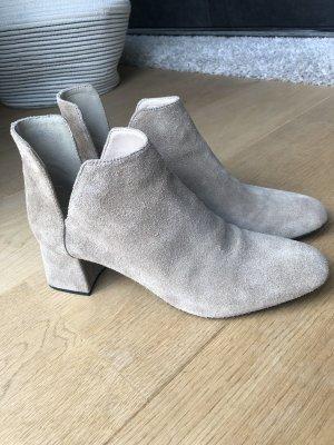 Zara Ankle Boots oatmeal