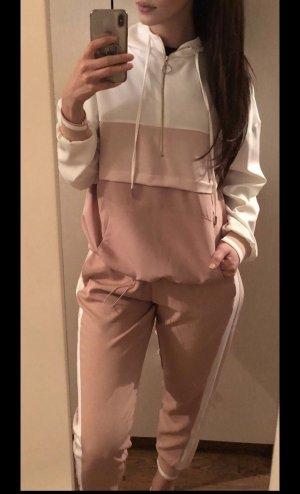 Zara Jersey twin set veelkleurig