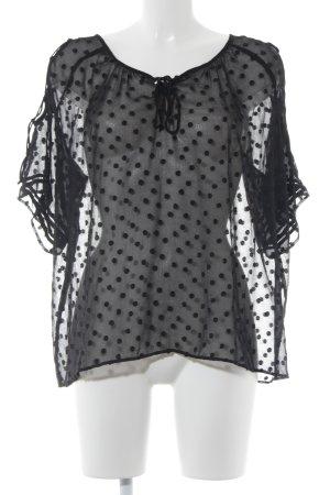 Zara Blouse transparente noir élégant