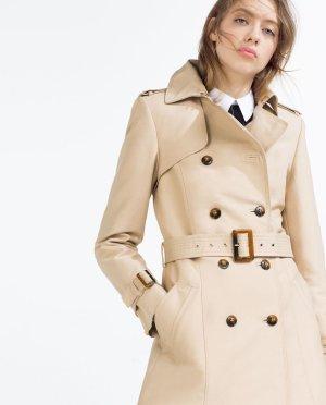 Zara Jacket oatmeal polyester